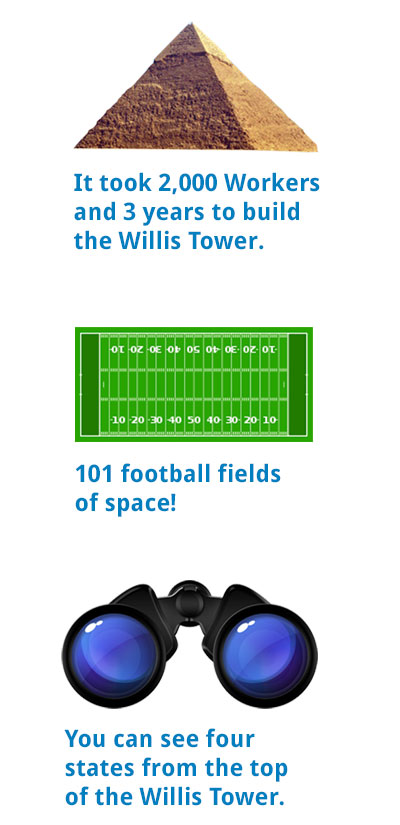 Fun facts for kids about willis tower north america 39 s for Interesting facts north america