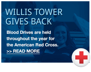 Willis Tower gives back